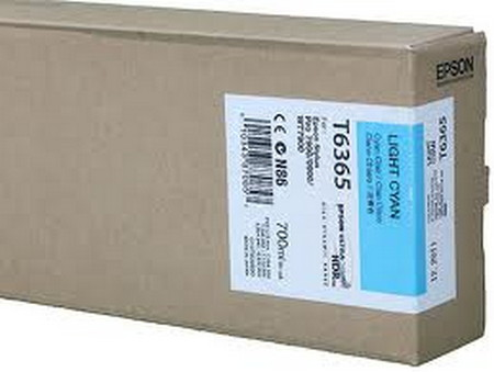 Cartuchos de tinta CARTUCHO DE TINTA CIAN CLARO 700 ML EPSON T6365