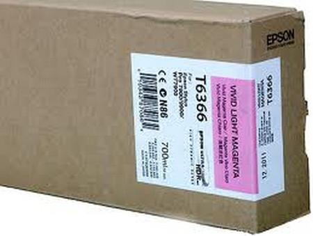 Cartuchos de tinta CARTUCHO DE TINTA MAGENTA VIVO CLARO 700 ML EPSON T6366