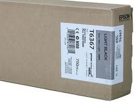 Cartucho de tinta CARTUCHO DE TINTA GRIS 700 ML EPSON T6367