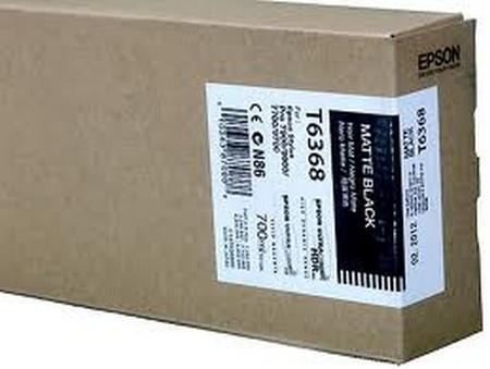 Cartuchos de tinta CARTUCHO DE TINTA NEGRO MATE 700 ML EPSON T6368
