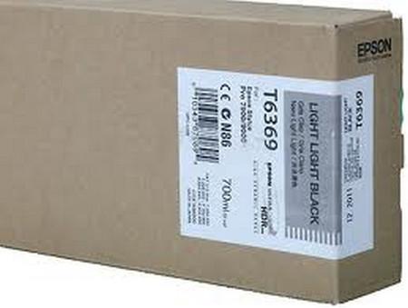 Cartuchos de tinta CARTUCHO DE TINTA GRIS CLARO 700 ML EPSON T6369