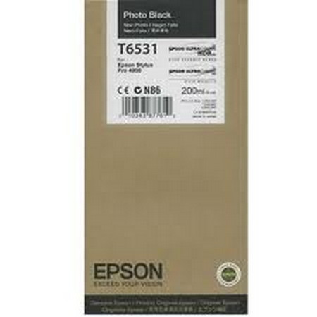 Cartuchos de tinta CARTUCHO DE TINTA NEGRO FOTO 200 ML EPSON T6531