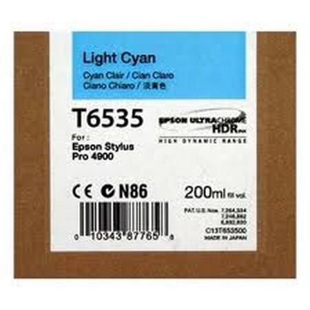 Cartucho de tinta CARTUCHO DE TINTA CIAN CLARO 200 ML EPSON T6535