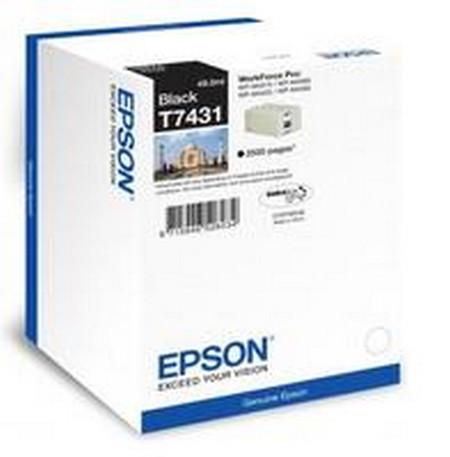 Cartuchos de tinta CARTUCHO DE TINTA NEGRO EPSON T7431
