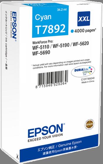 Comprar cartucho de tinta alta capacidad C13T789240 de Epson online.
