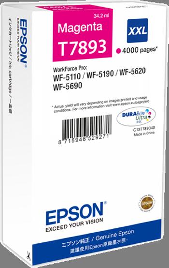 Comprar cartucho de tinta alta capacidad C13T789340 de Epson online.