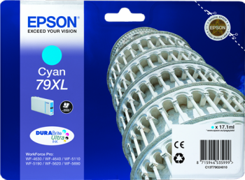 Comprar cartucho de tinta alta capacidad C13T79024010 de Epson online.