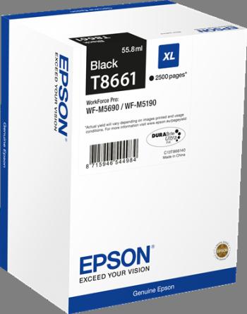 Comprar cartucho de tinta alta capacidad C13T866140 de Epson online.