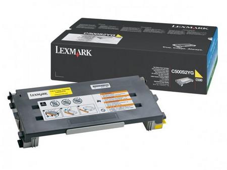 Comprar cartucho de toner C500S2YG de Lexmark online.