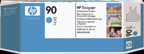 CABEZAL DE IMPRESION CIAN HP 90