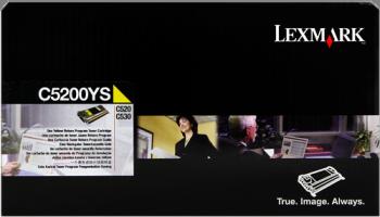 Comprar cartucho de toner C5200YS de Lexmark online.