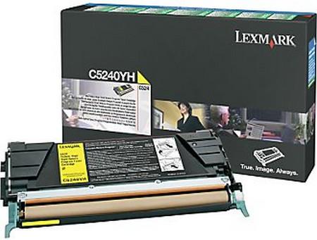 Comprar cartucho de toner C5240YH de Lexmark online.