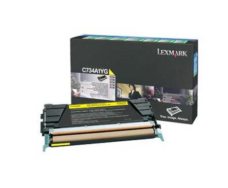 Comprar cartucho de toner C734A1YG de Lexmark online.