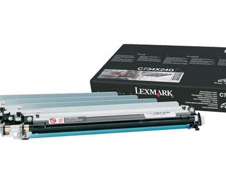 Comprar tambor 0C734X24G de Lexmark online.