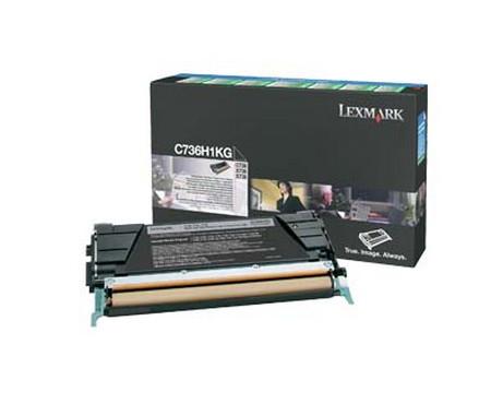 Comprar cartucho de toner 0C736H1KG de Lexmark online.