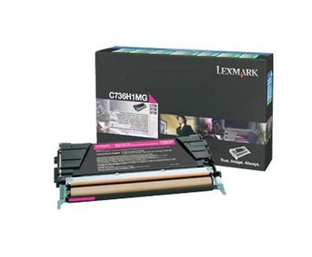 Comprar cartucho de toner 0C736H1MG de Lexmark online.