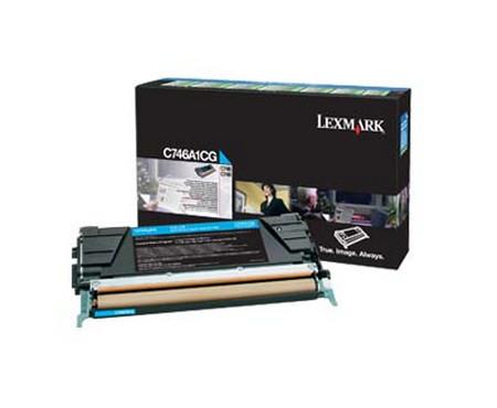 Comprar cartucho de toner C746A1CG de Lexmark online.