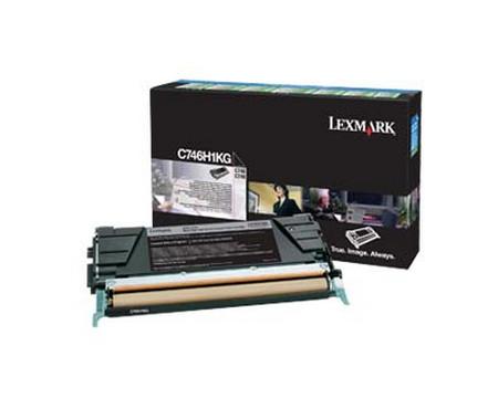 Comprar cartucho de toner C746H1KG de Lexmark online.