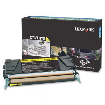 Comprar cartucho de toner C748H1YG de Lexmark online.