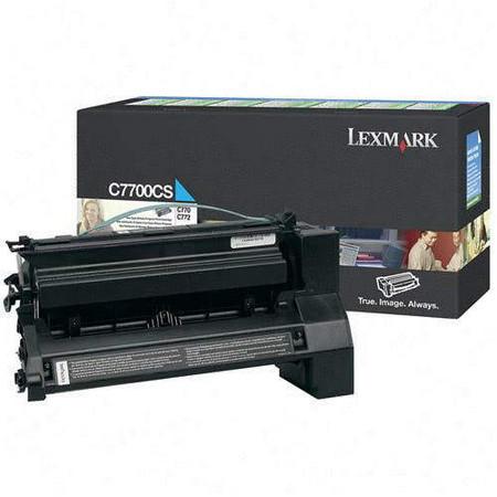 Comprar cartucho de toner C7700CS de Lexmark online.