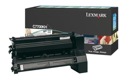 Comprar cartucho de toner C7700KH de Lexmark online.