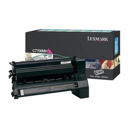 Comprar cartucho de toner C7700MH de Lexmark online.