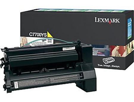 Comprar cartucho de toner C7700YS de Lexmark online.