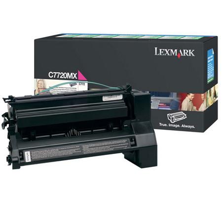 Comprar cartucho de toner C7720MX de Lexmark online.