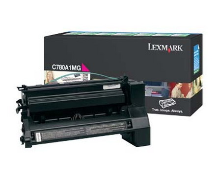 Comprar cartucho de toner C780A1MG de Lexmark online.