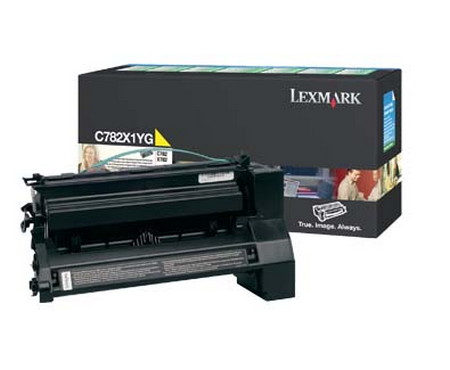 Comprar cartucho de toner C782X1YG de Lexmark online.