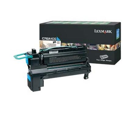 Comprar cartucho de toner C792A1CG de Lexmark online.