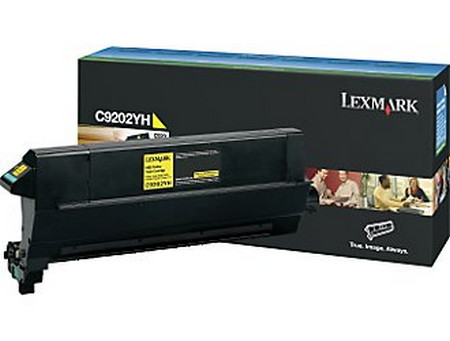 Comprar cartucho de toner C9202YH de Lexmark online.