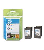 Comprar Pack 2 cartuchos de tinta C9503AE de HP online.