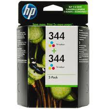 Cartucho de tinta CARTUCHO DE TINTA TRICOLOR PACK 2 HP Nº 344