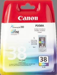 Comprar cartucho de tinta CL38 de Canon online.