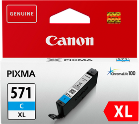 CANON CARTUCHO TINTA CIAN ALTO RENDIMIENTO CLI571C 680PAGINA