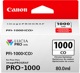 CANON CARTUCHO DE TINTA TRANSPARENTE PFI-1000CO 0556C001 80ML CHROMA OPTIMIZER
