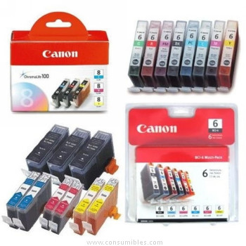 CARTUCHO DE TINTA CIAN CANON BJI-P600C