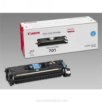 CARTUCHO DE TÓNER CIAN CANON CRG-701C