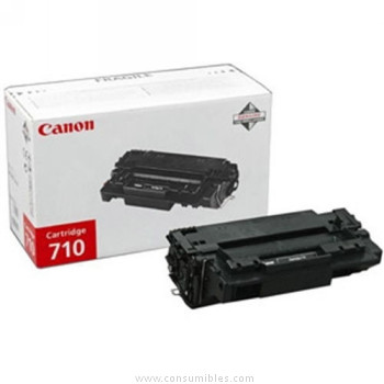 CARTUCHO DE TÓNER NEGRO CANON CRG-710