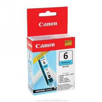 Cartucho de Tinta Fotografico Cian Canon BCI-6PC