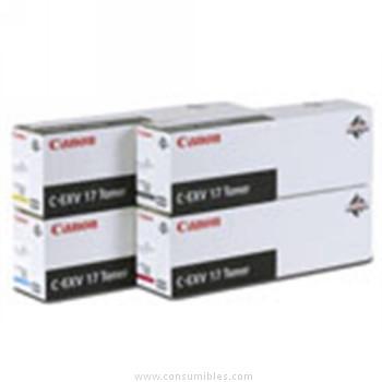CARTUCHO DE TÓNER CIAN CANON C-EXV-17 30000 PÁGINAS