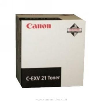CARTUCHO DE TÓNER NEGRO CANON C-EXV-21