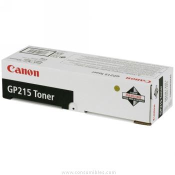 CARTUCHO DE TÓNER NEGRO CANON GP215