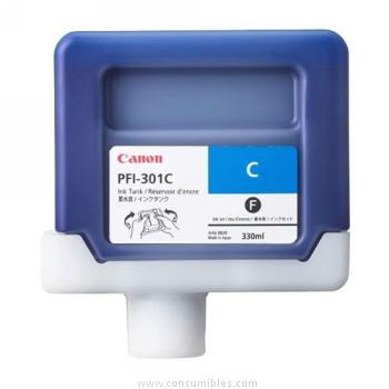 CARTUCHO DE TINTA CIAN PIGMENTADA 330 ML CANON PFI-301C
