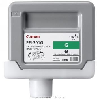 CARTUCHO DE TINTA VERDE PIGMENTADA 330 ML CANON PFI-301G