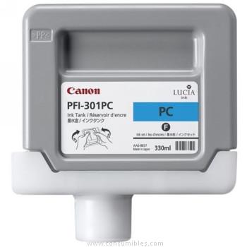 CARTUCHO DE TINTA FOTOGRAFICO CIAN PIGMENTADA 330 ML CANON PFI-301PC