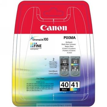 CARTUCHO DE TINTA PACK 2 CANON PG-40-CL-41