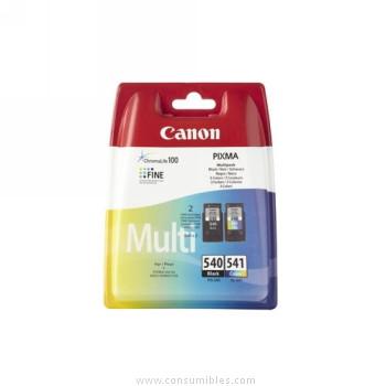 CARTUCHO DE TINTA NEGRO-COLOR PACK 2 CANON PG-540-CL-541