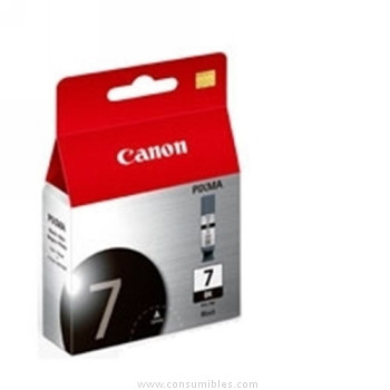 Cartucho de Tinta Negro Canon PGI-7BK